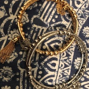 Express Bangle Wrap Bracelets set of 2